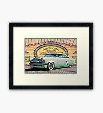 1954 Mercury 'Custom' Monterey Framed Print