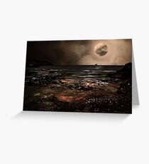 S is for.....Supermoon Greeting Card