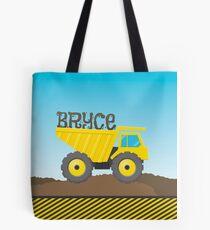 CUSTOM - kids yellow dump truck Tote Bag
