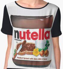 Nutella Spread Women's Chiffon Top