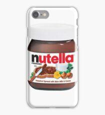 Nutella Spread iPhone Case/Skin