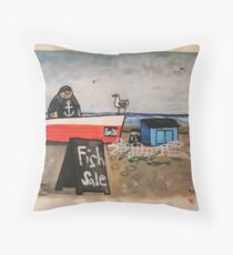 Sussex School Throw Pillow