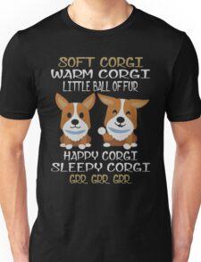 Soft Corgi, Warm Corgi T-shirts, Hoodies n Sweaters Unisex T-Shirt