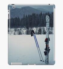ski equipment iPad Case/Skin