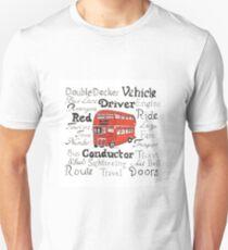 Double Decker Bus Design T-Shirt