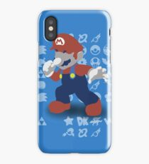 Smash 4 - Mario iPhone Case