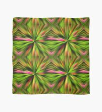 Vibrant Multi Colored Star Abstract Scarf
