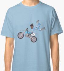 Stuntin on my x | Black Classic T-Shirt