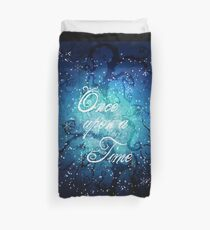 Once Upon A Time ~ Winter Snow Forest Duvet Cover