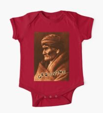 Geronimo, Indian Leader, Apache tribe, the one who yawns, Chiricahua  One Piece - Short Sleeve