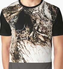 Hole in Tree Trunk Graphic T-Shirt
