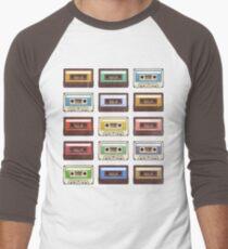 Cassettes Men's Baseball ¾ T-Shirt