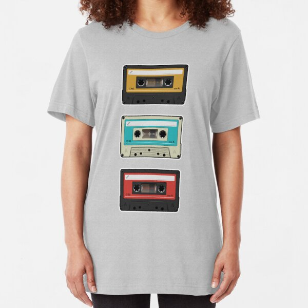 cassettes Slim Fit T-Shirt