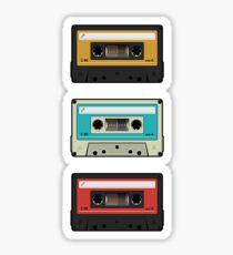 cassettes Sticker
