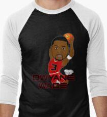 Dwyane Wade Men's Baseball ¾ T-Shirt