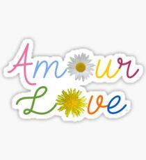 Amour Love Sticker