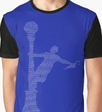 Singin' In the Rain Lyric Silhouette Graphic T-Shirt