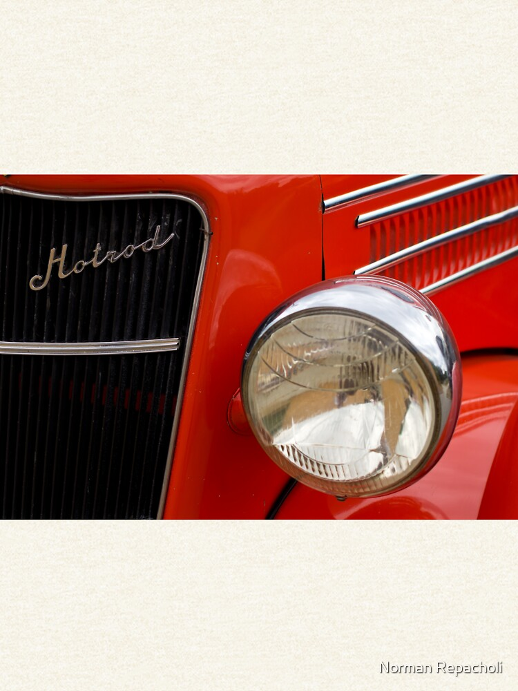 Red Hotrod Head light by keystone