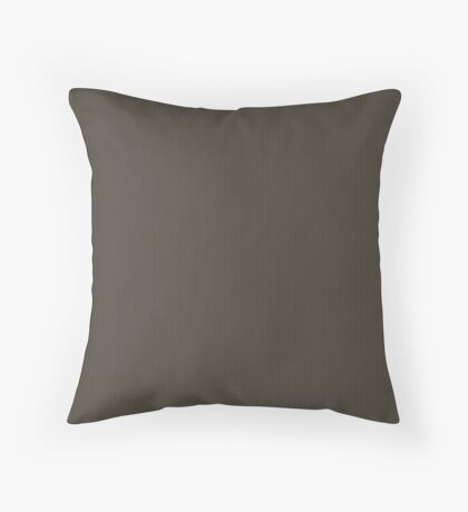 Gray-Taupe Weave Pattern by Julie Everhart Throw Pillow