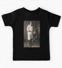 Babe Ruth, American Professional Baseball player Kids Tee