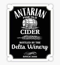 Delta Winery - Antarian Cider Sticker