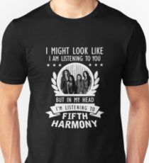 I'M LISTENING FIFTH HARMONY Unisex T-Shirt