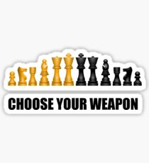 Chess Play Game Sticker