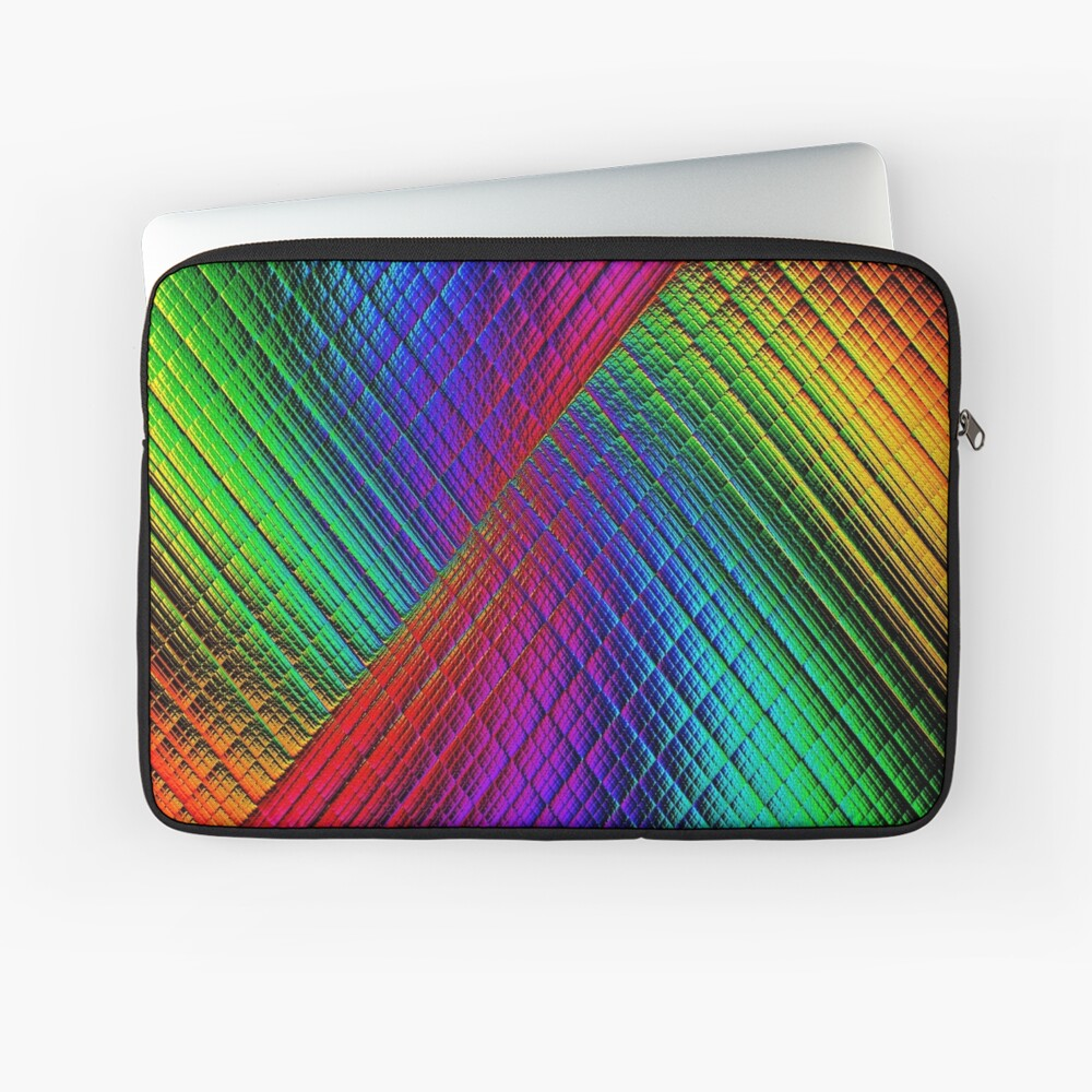 Textured Rainbow Laptop Sleeve