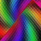 Textured Rainbow by Julie Everhart
