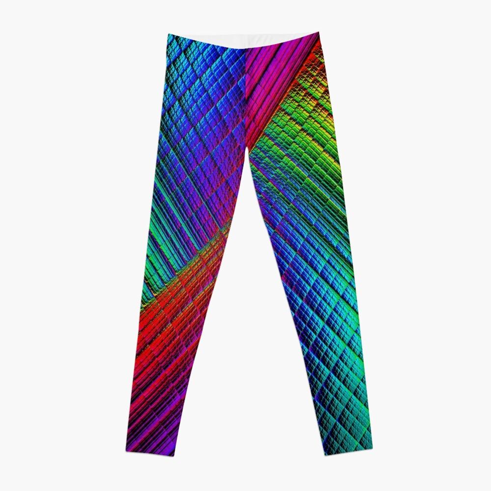 Textured Rainbow Leggings