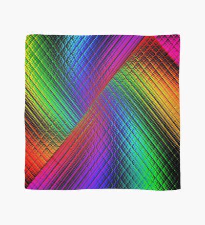 Textured Rainbow Scarf