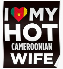 I Love My Hot Cameroonian Wife Poster