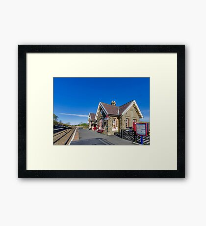 Horton in Ribblesdale Station Framed Print