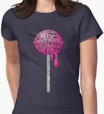 words Womens Fitted T-Shirt