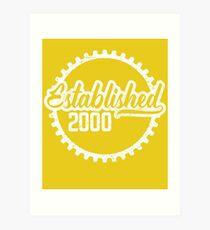 Established 2000  Art Print