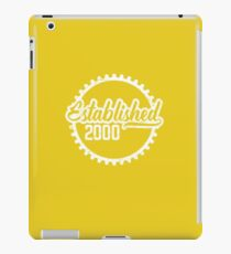 Established 2000  iPad Case/Skin