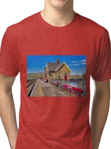 Ribblehead Station Tri-blend T-Shirt