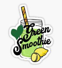 Love Green Smoothie - health food kale healthy eating eat clean cleanse healthy breakfast Sticker