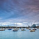 Falmouth Harbour, Cornwall by Lissywitch