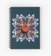 Spring Apple Firework  Spiral Notebook