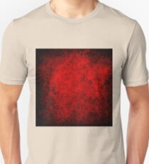 Deep red,grunge,damasks,vintage,pattern,rustic,grunge,chic Unisex T-Shirt