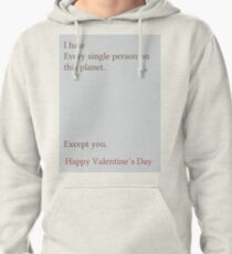 Except You Pullover Hoodie