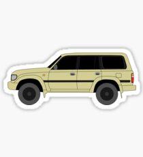 Toyota Land Cruiser 80 Series (j80) Sticker
