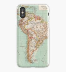 South America Antique Maps iPhone Case/Skin