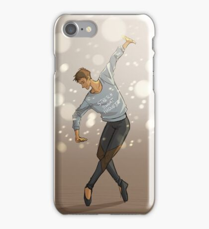 Lance and his pirouettes iPhone Case/Skin