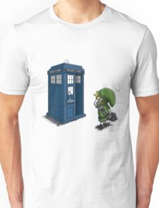 The Legend of Zelda & Doctor Who - Link (Tardis) Unisex T-Shirt