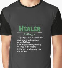 Definition of Healer Graphic T-Shirt