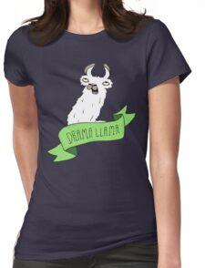Drama Llama Womens Fitted T-Shirt