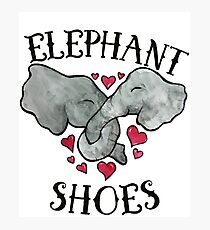 Elephant Shoes Photographic Print