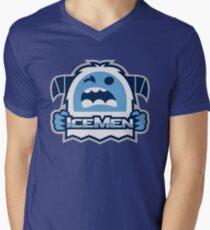 SMNC - Icemen Logo Men's V-Neck T-Shirt